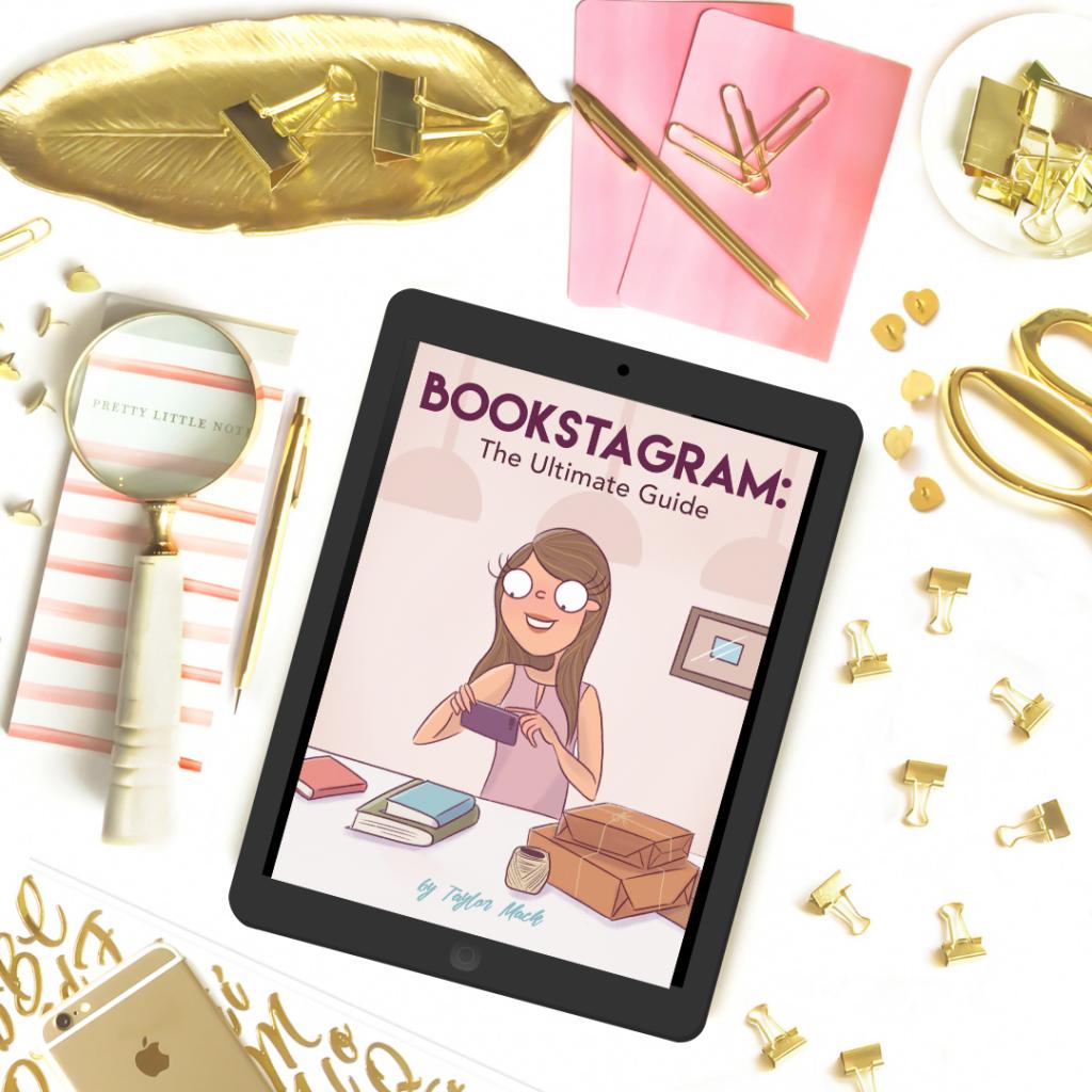 ipad on desktop: bookstagram ultimate guide ebook
