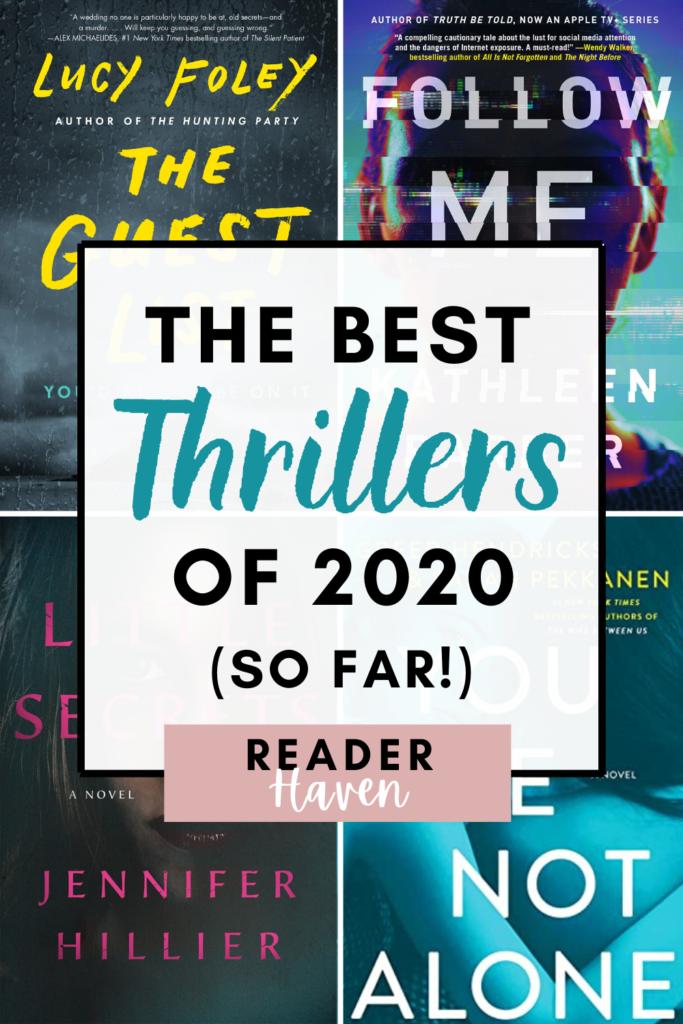 The best thriller books of 2020 so far