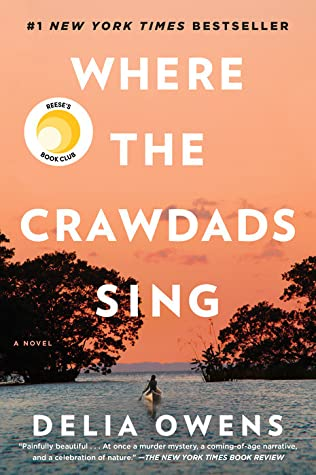 Book cover: Where the Crawdads Sing by Delia Owens