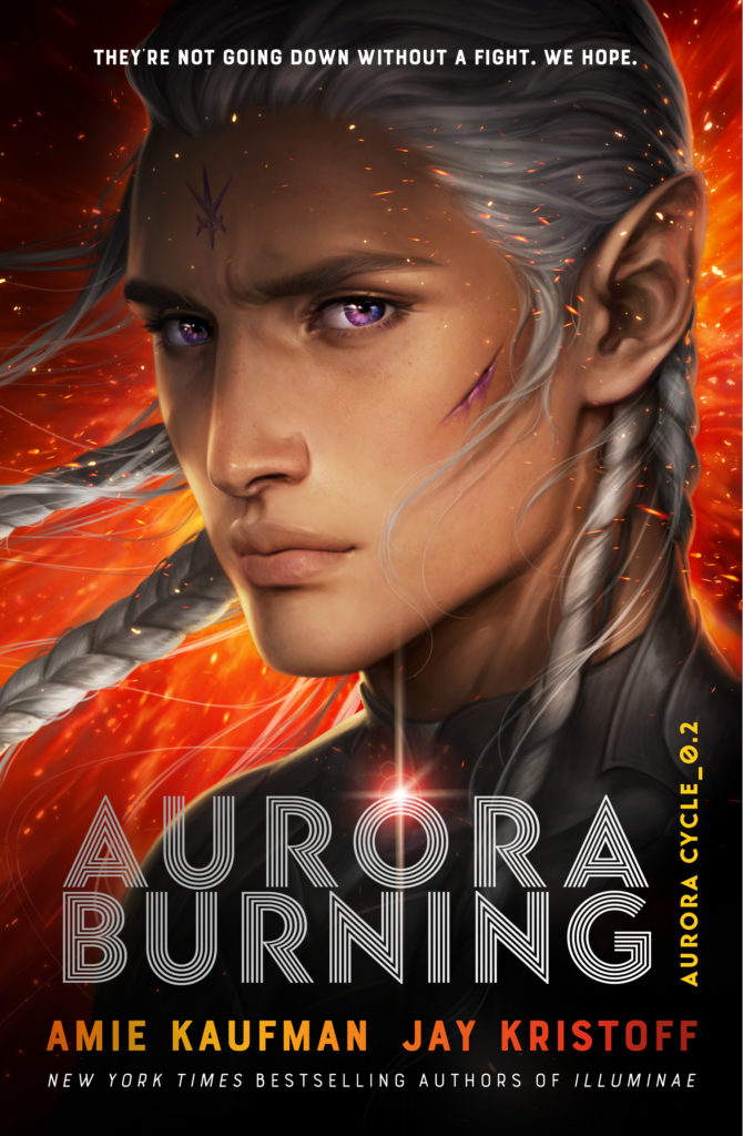 Book cover: Aurora Burning by Amie Kaufman & Jay Kristoff