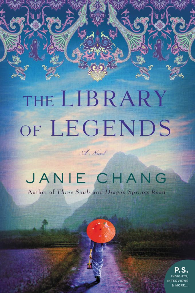 Book cover: The Library of Legends by Janie Chang