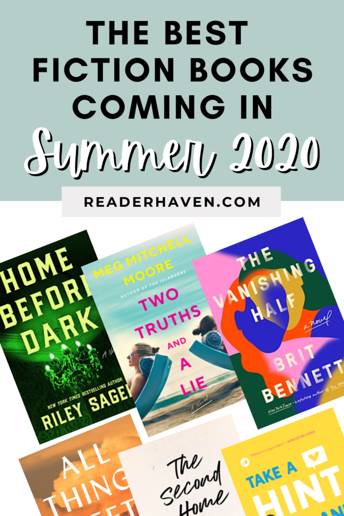 Summer reading list 2020: exciting new fiction book releases