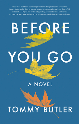 Book review: Before You Go by Tommy Butler