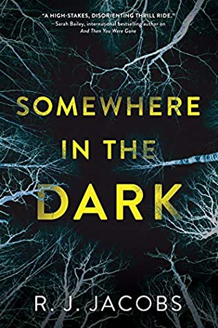 Book cover: Somewhere in the Dark by R.J. Jacobs