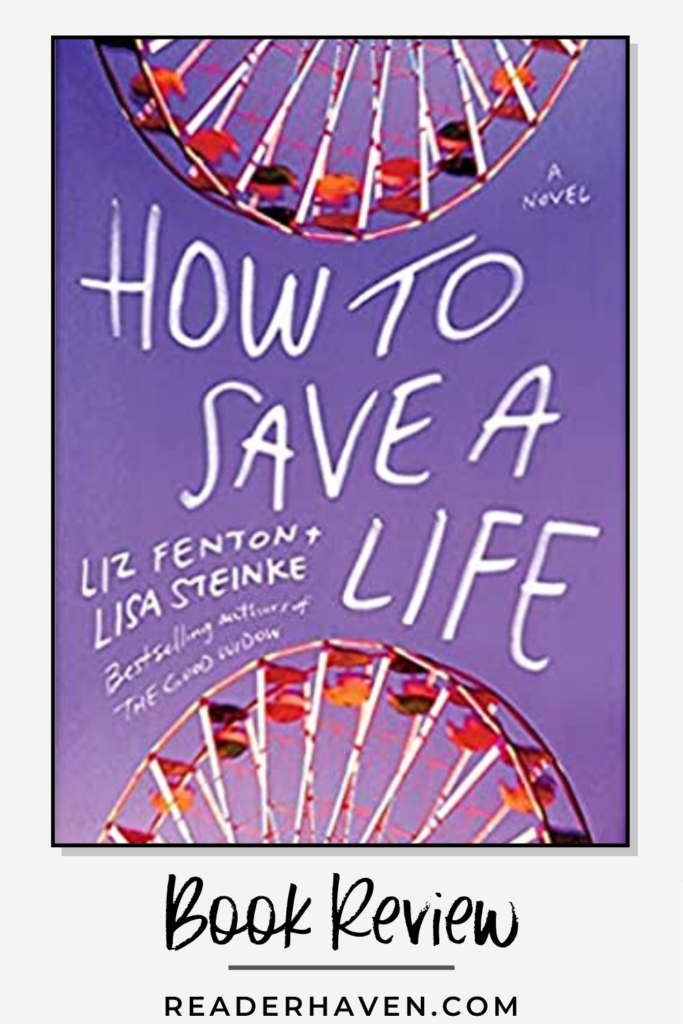 How to Save a Life Book Review