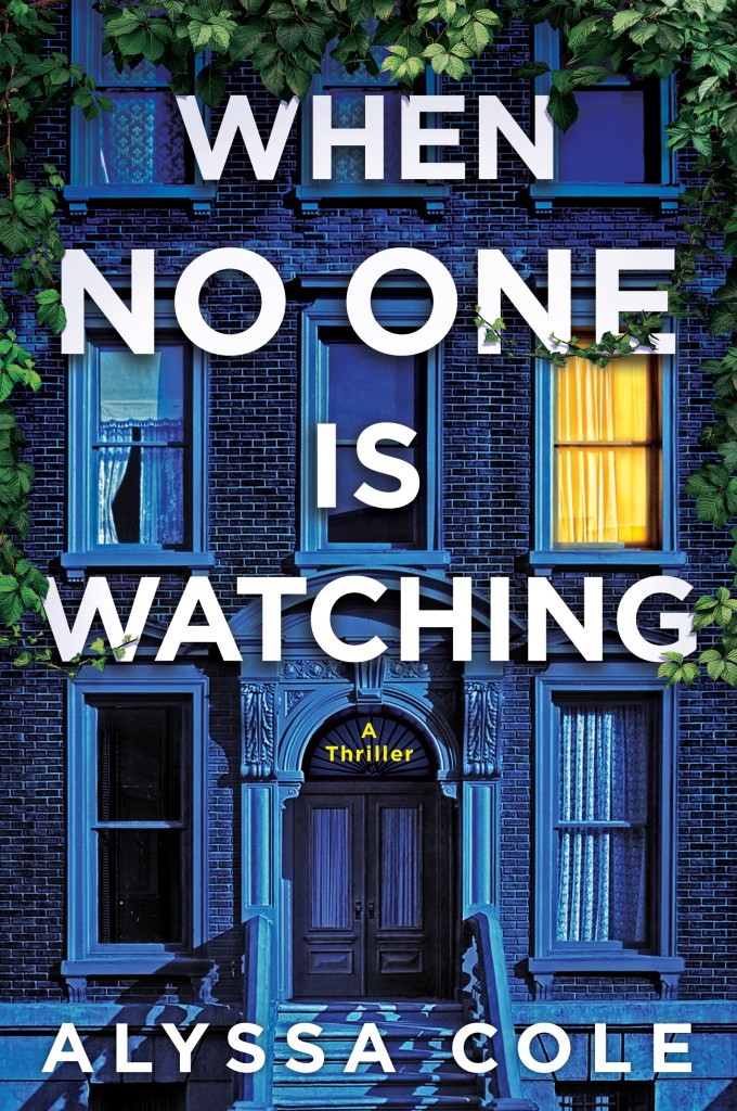 when no one is watching book cover