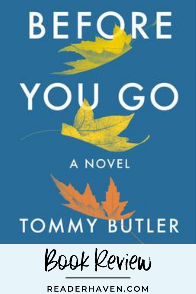 Before You Go Book Review
