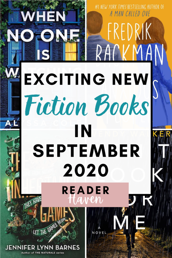New Book Releases September 2020 - fiction books