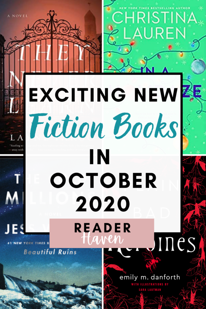 Exciting new book releases October 2020