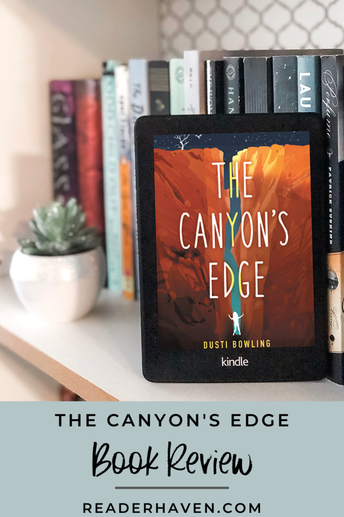 the canyon's edge by dusti bowling book review
