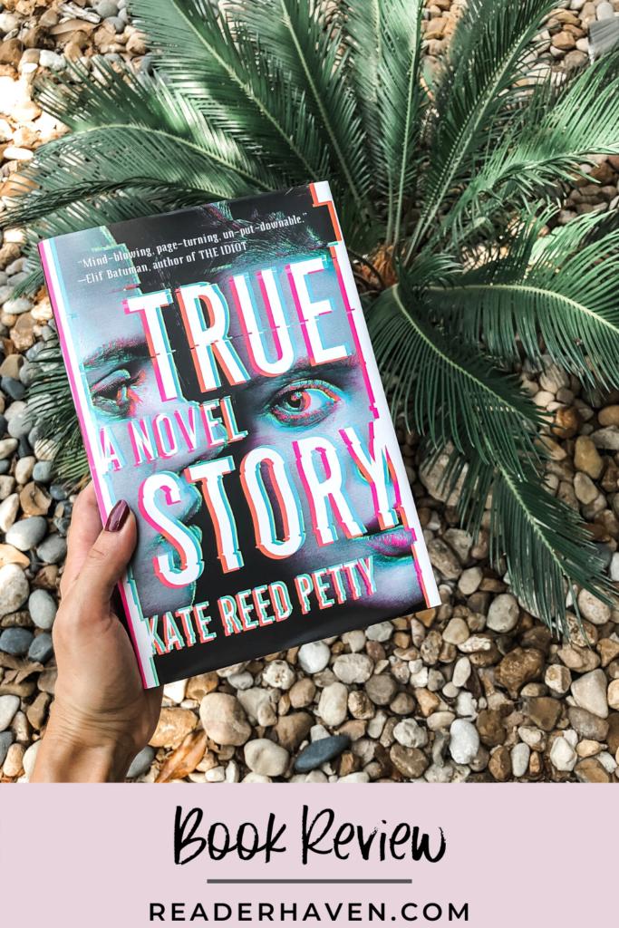 true story book cover