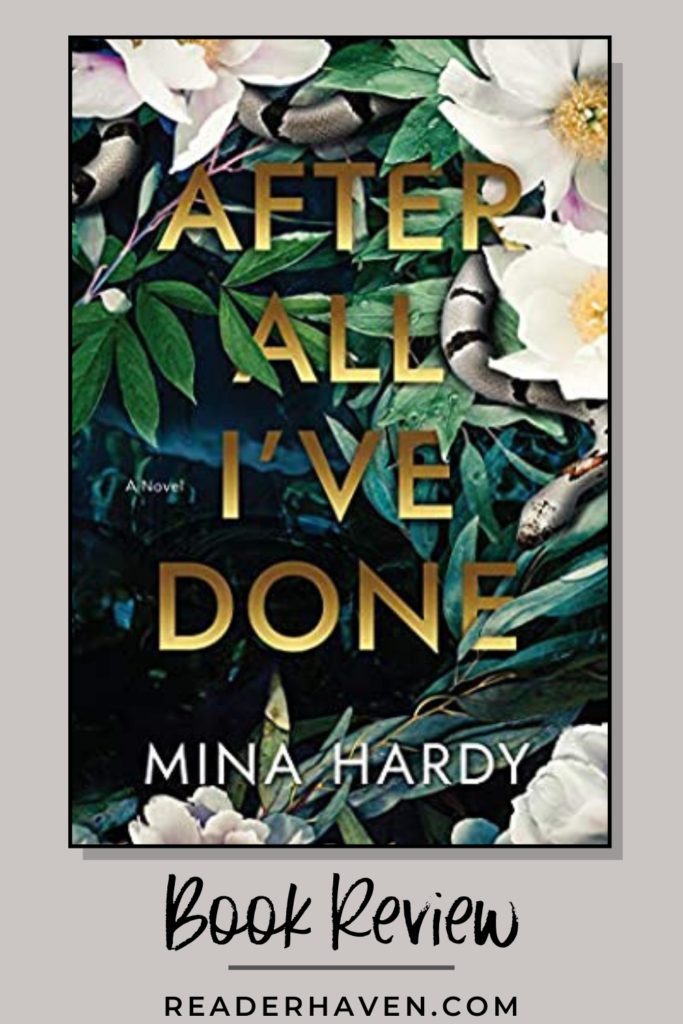 After All I've Done by Mina Hardy book review