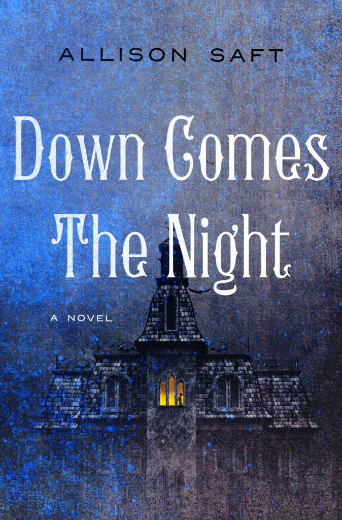 Down Comes the Night by Allison Saft book cover