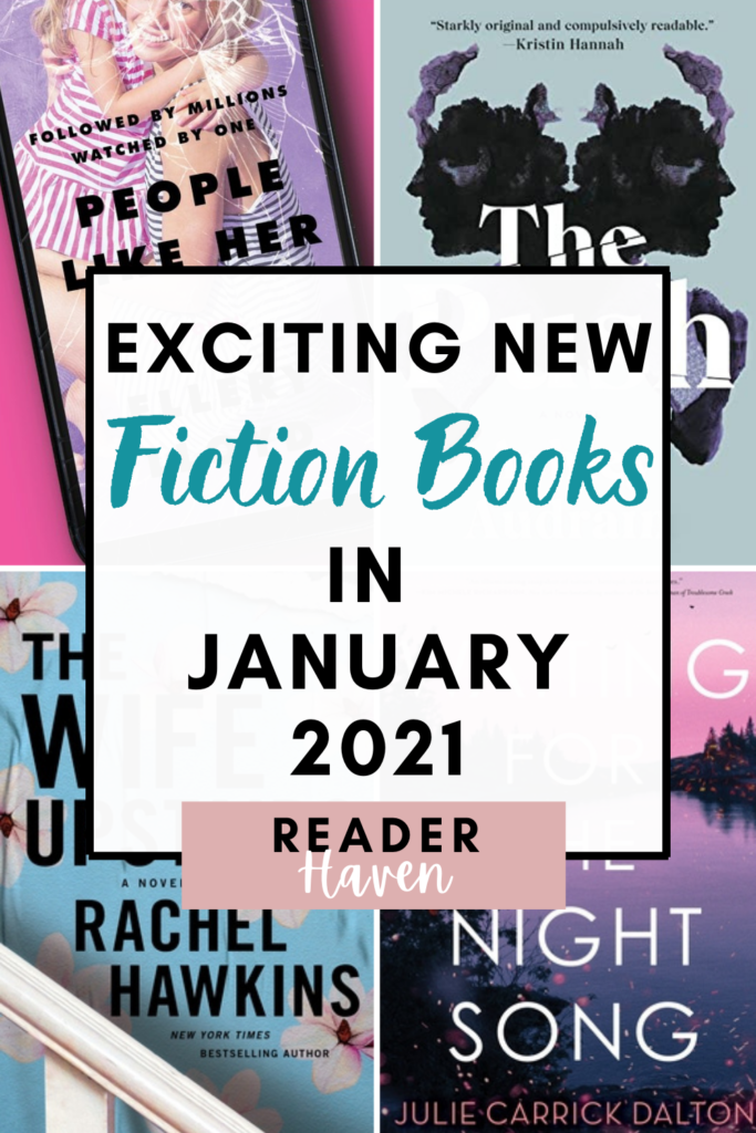 New Book Releases January 2021 - Fiction Books