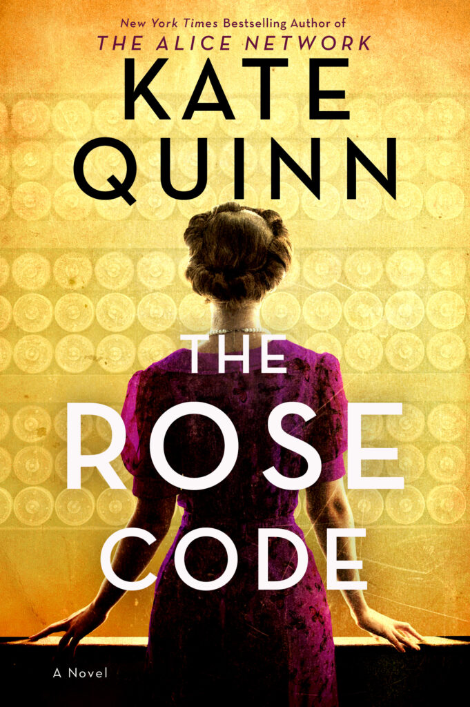 The Rose Code by Kate Quinn book cover