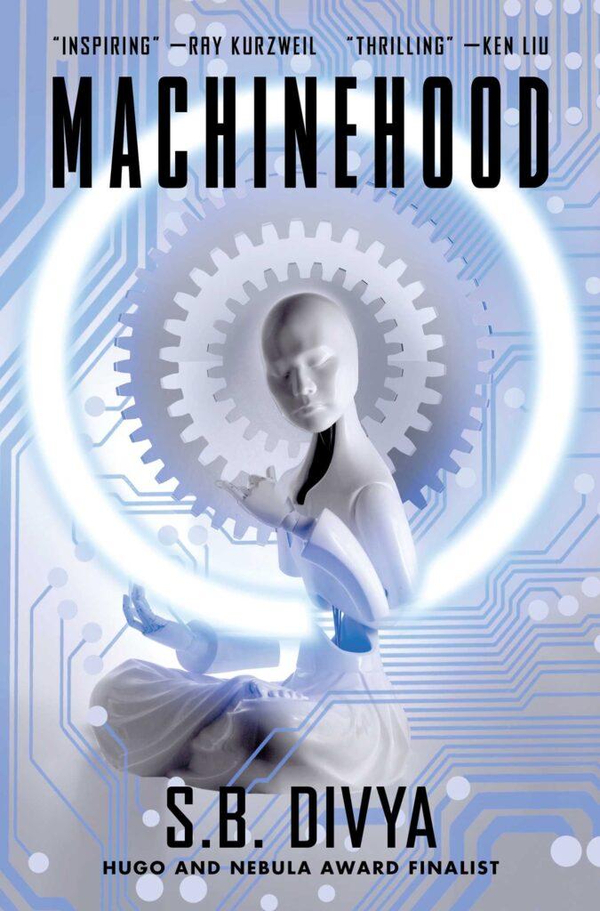 Machinehood by S.B. Divya book cover