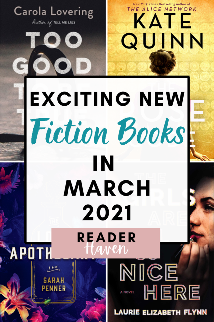 March 2021 Book Releases - Fiction Books