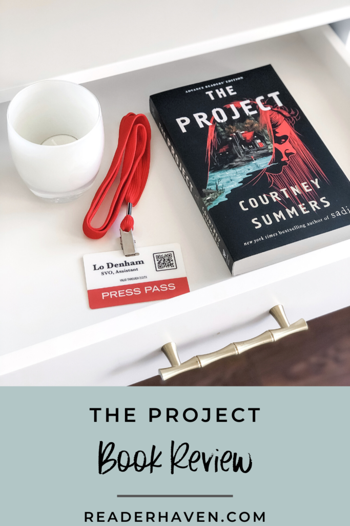 The Project by Courtney Summers book review