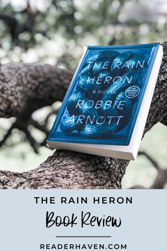 The Rain Heron by Robbie Arnott book review