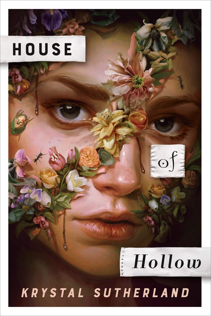 House of Hollow by Krystal Sutherland book cover