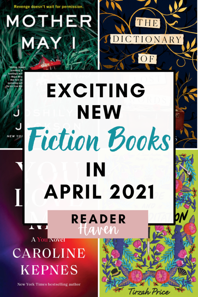 April 2021 Book Releases - Fiction Books