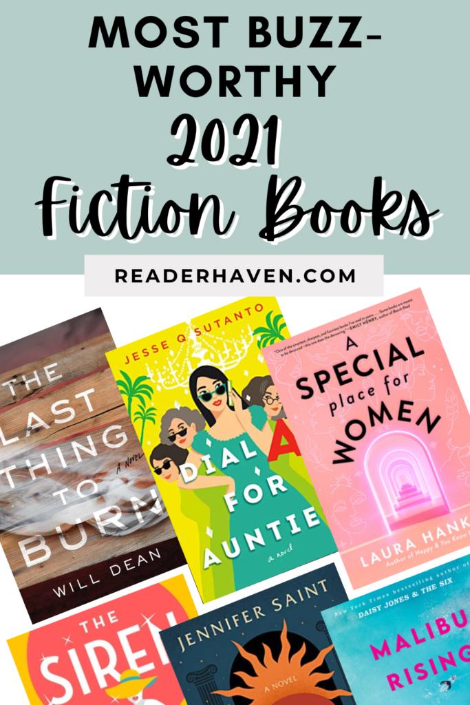Most buzz-worthy 2021 fiction books