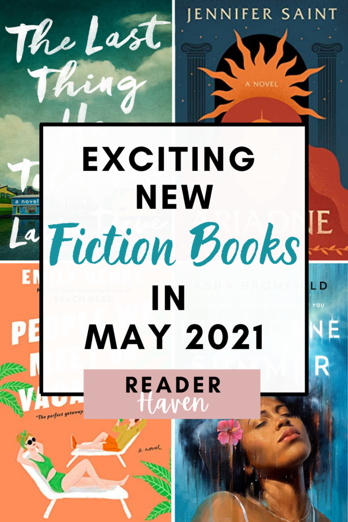 May 2021 Book Releases - Fiction