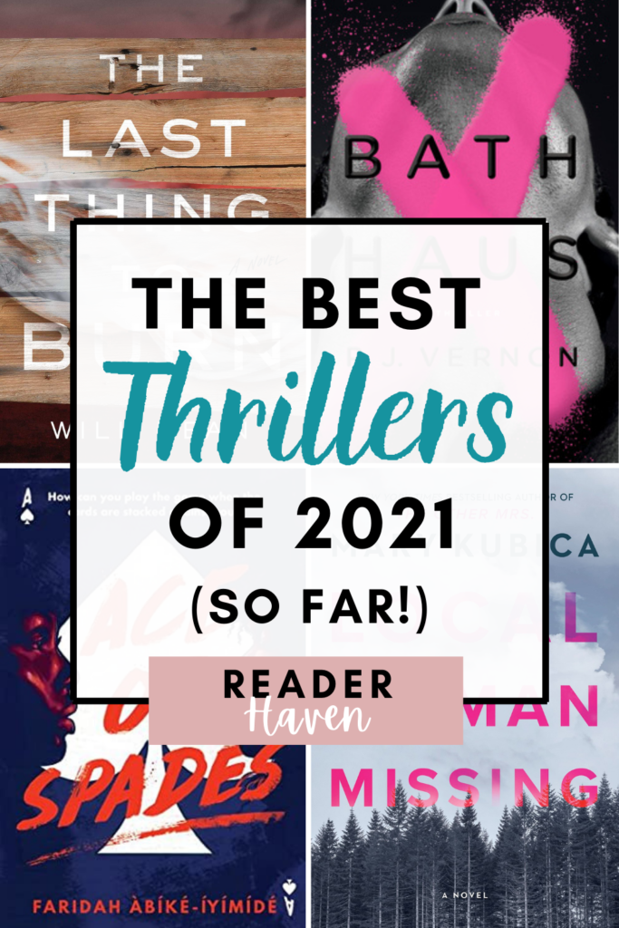 The Best 2021 Thriller Books (So Far)