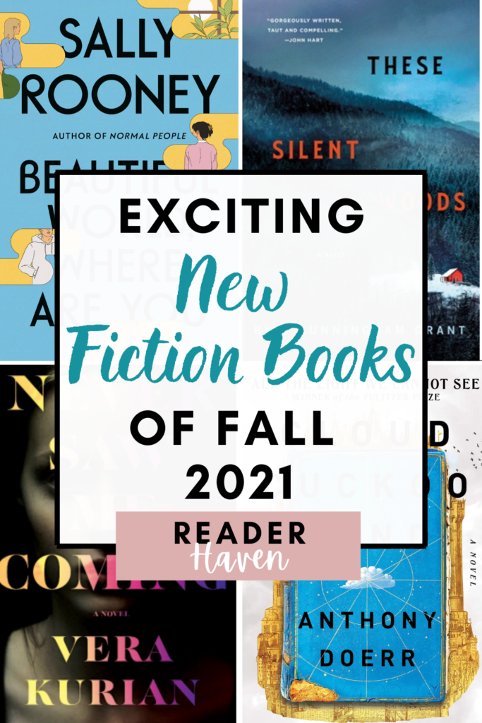 Exciting Fall 2021 Book Releases (Fiction)